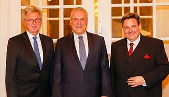 Foto: Amtswechsel im Vorstand der BVK