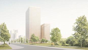 Siegerentwurf des Architekturwettbewerbs von David Chipperfield